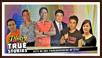 Pinoy True Stories Anchors: Dominic Almelor, Karen Davila, Anthony Taberna, Julius Babao, Atom Araullo and Maan Macapagal