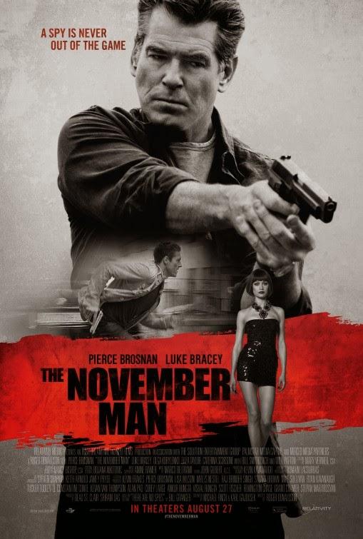 the november man movie poster teaser trailer