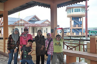 Traditional gallery Building at Kampong Ayer