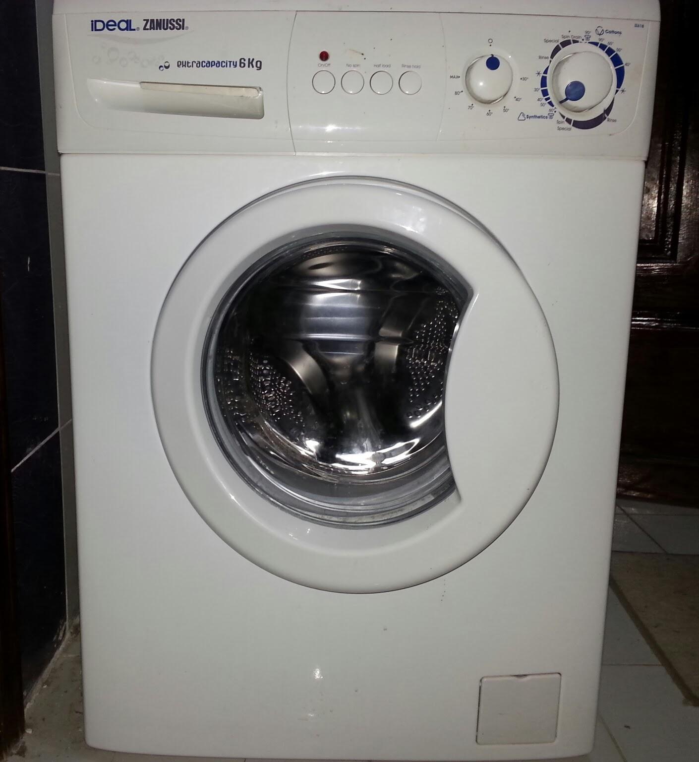 front load washing machine odor
