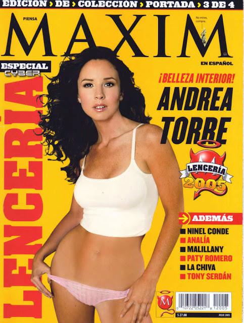 Fotos Andrea Torre Maxim Julio 2005