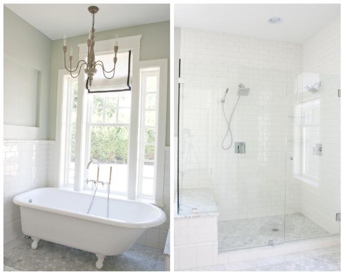 Comwhite Carrara Marble Bathroom : The Granite Gurus: Carrara marble Master Bath