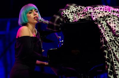 Lady Gaga konsert menyokong Gay