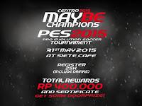 PES 2013 Tournament di Siete Café Bandung Mei 2015