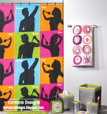 ishower curtain design For yablofanatov 30 Creative shower curtains unique designs, styles, photos 2