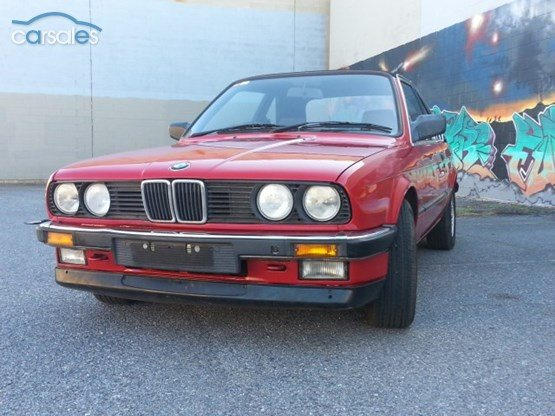 Baurspotting 1986 325e for sale in australia 1986 bmw 325e cabriolet e30 auto sciox Choice Image