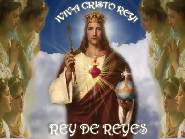 23 DE NOVIEMBRE CRISTO REY DEL UNIVERSO (clic en la foto)