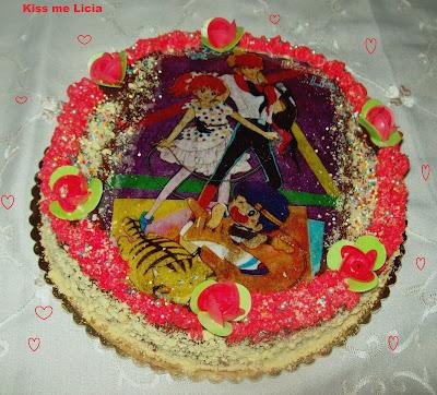 torta kiss me licia