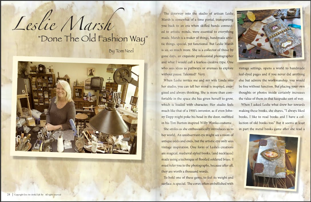 Interview with Live An Artful Life Magazine
