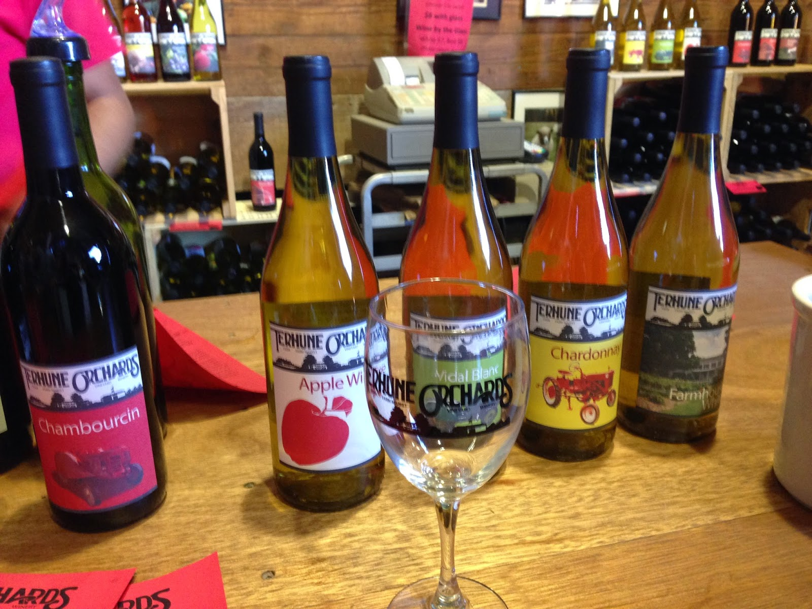New Jersey Wine Trail - Terhune Orchards winery