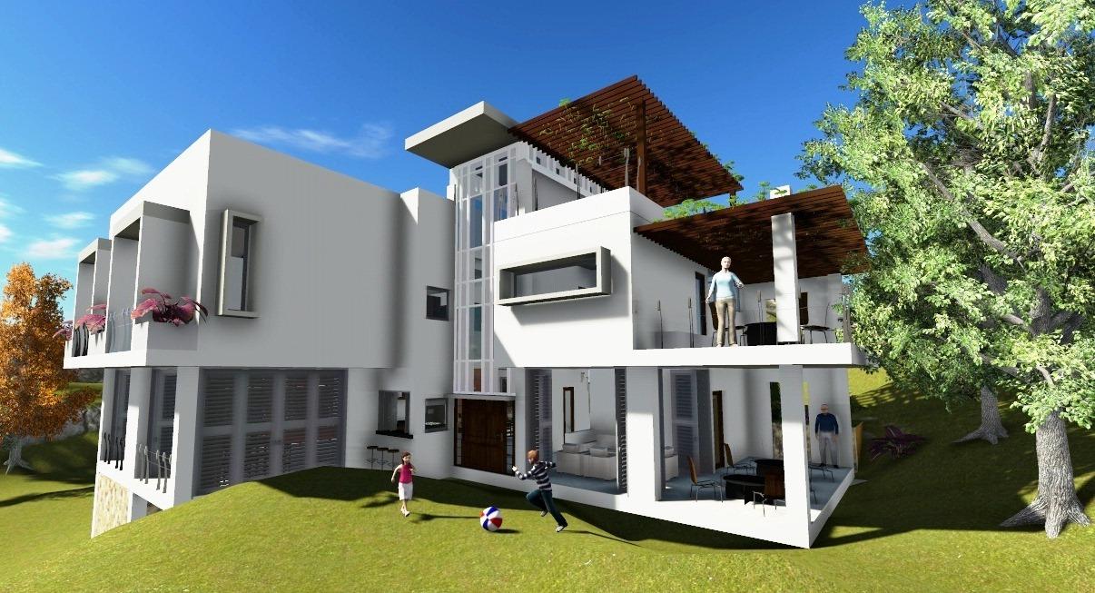 Ideark cali softwares aplicados a dise o ingenieria y for Modelo de casa en 3d