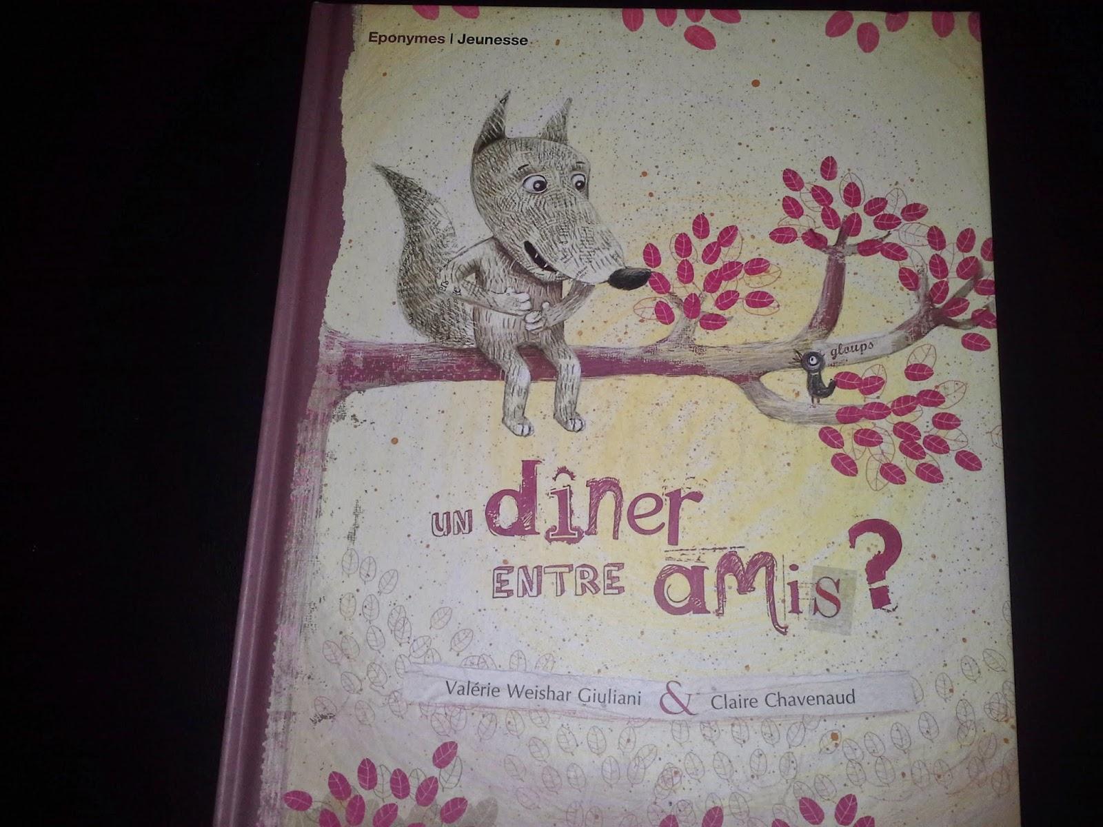 Les lectures de sanl ane un d ner entre amis for Diner sympa entre amis