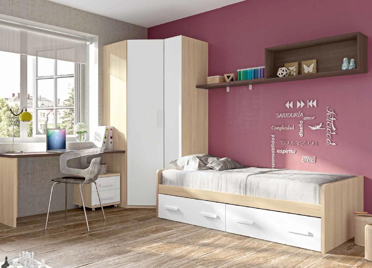Blog dormitorios juveniles com la cama primera decisi n for Disena tu habitacion juvenil
