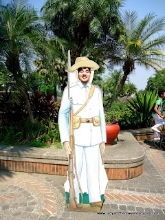 ed as a soldier at fort Santiago