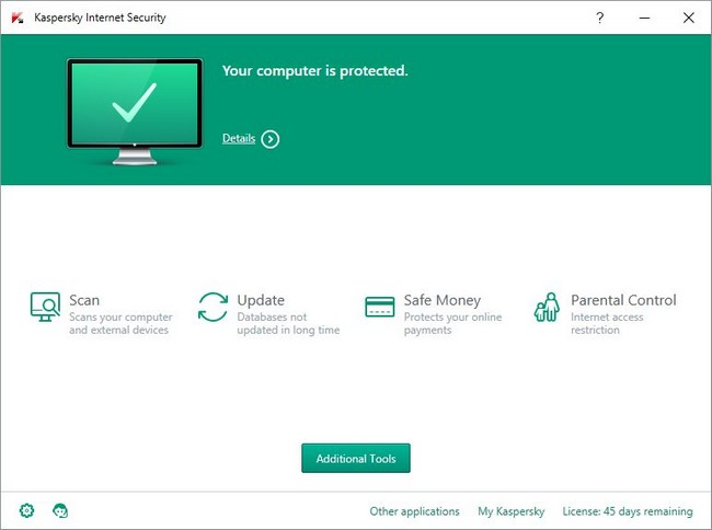 Kaspersky Internet Security 2016 16.0.0.614