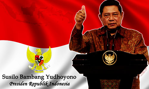 Foto SBY : Presiden Indonesia