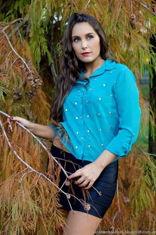 Camisas mujer invierno 2013