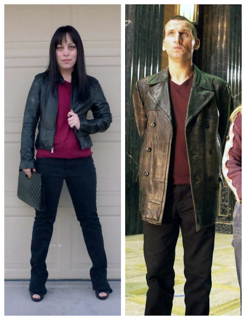 Ninth Doctor style outfit