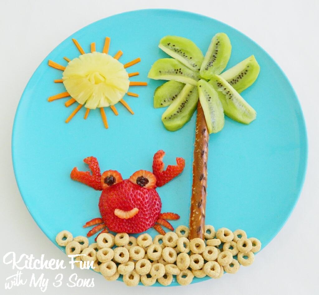 Easy Healthy Beach Snacks....