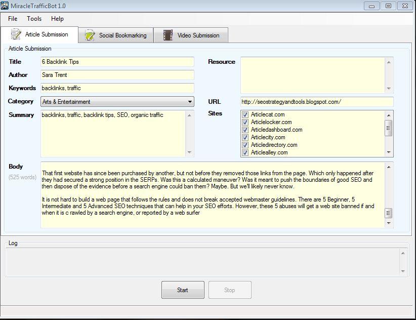 website traffic generator software with crack
