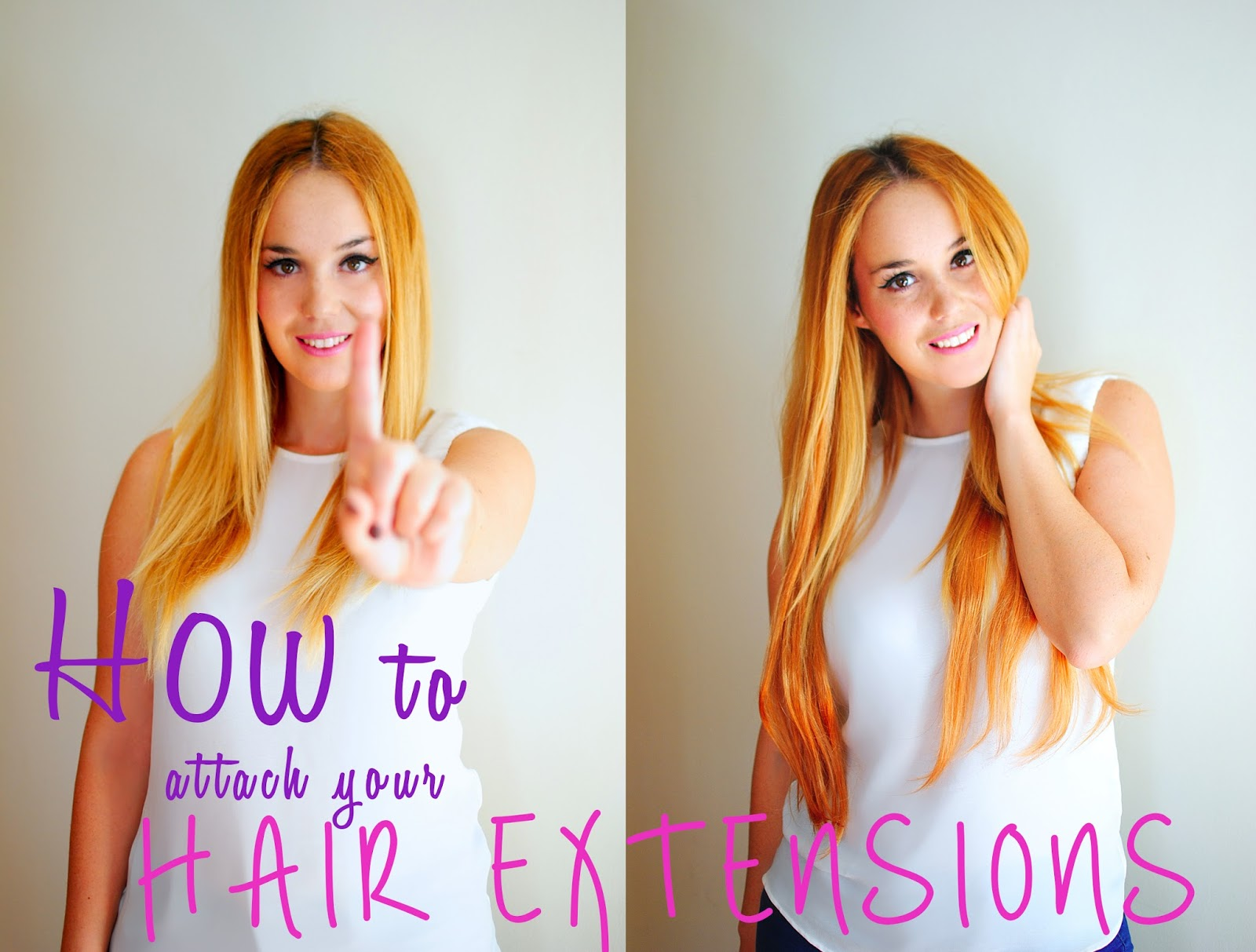 nery hdez, extensiones, hair extensions, attach hair extensions, hair tutorial , extensiones de pelo