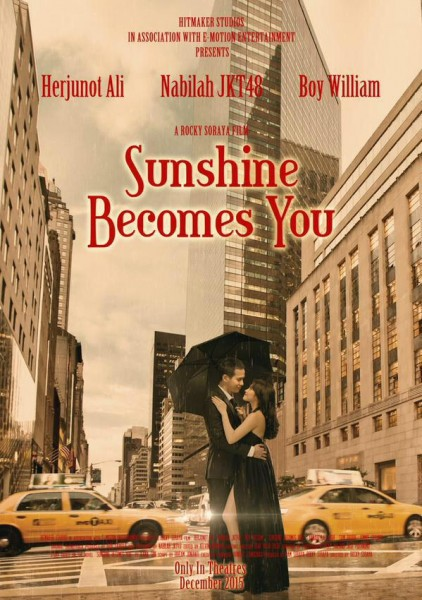 Sunshine Becomes You Rilis Poster Romantis Nabilah dan Junot