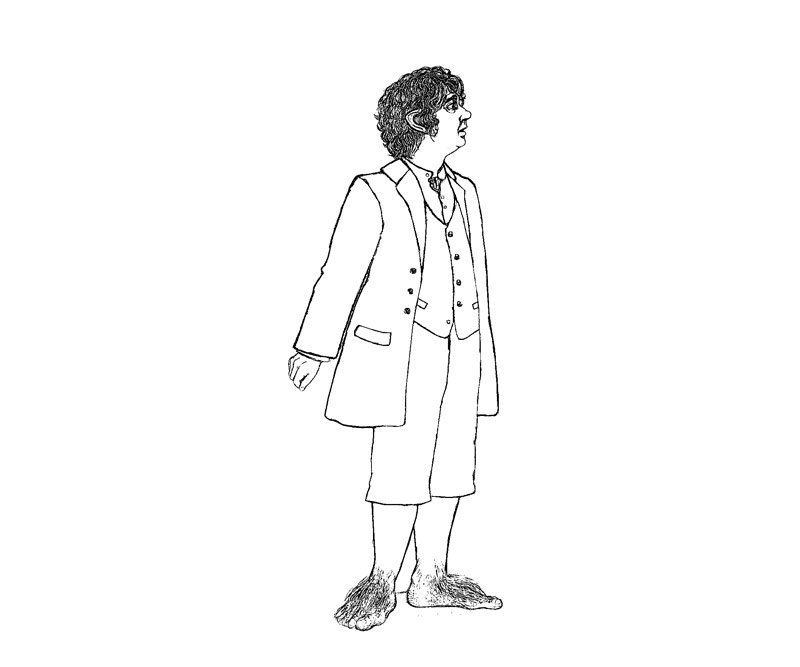 hobbit character coloring pages - photo#16