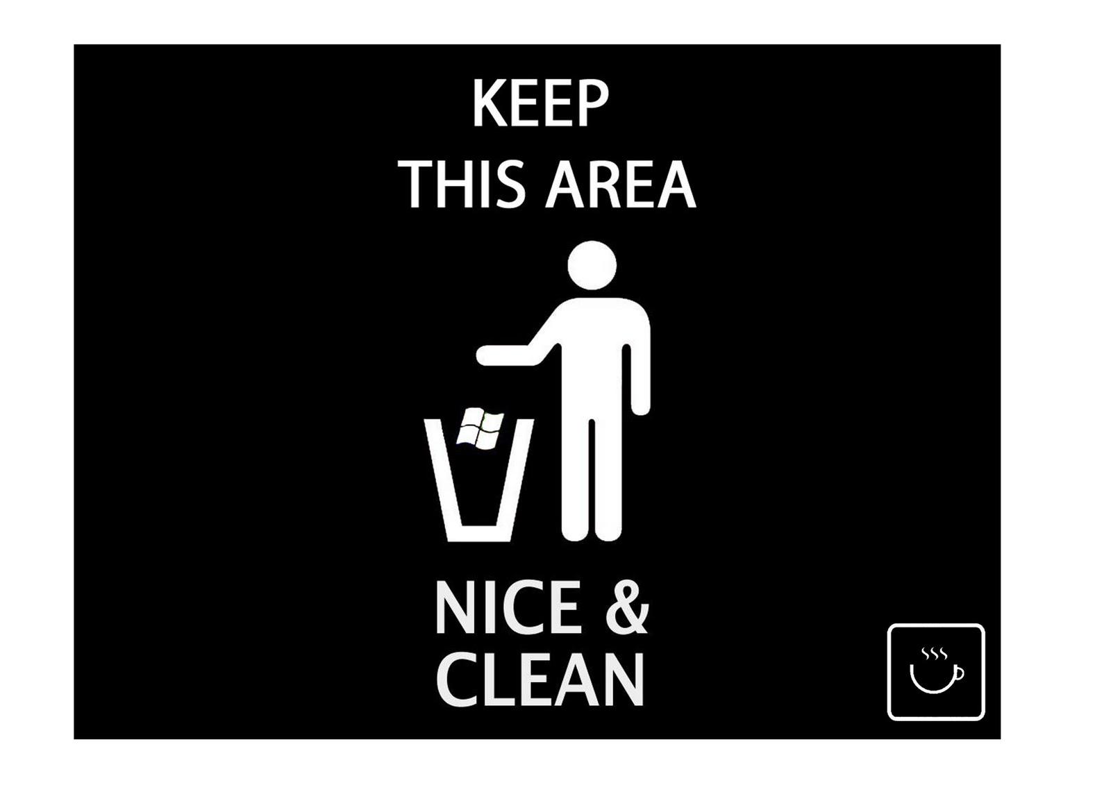 Menjaga Kebersihan Warung Kopi