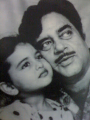 Sonakshi Sinha Childhood Photos with father Shatrughan Sinha