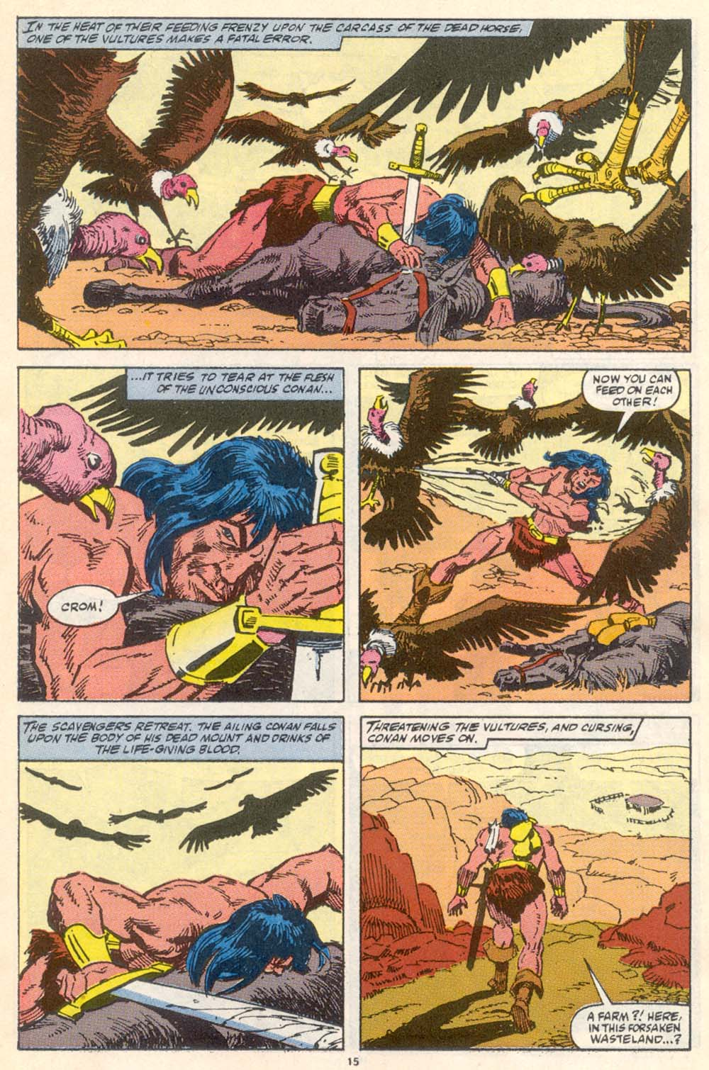 Conan the Barbarian (1970) Issue #222 #234 - English 12