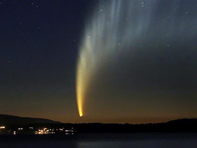 NEWLY FOUND COMET COULD OUTSHINE THE MOON
