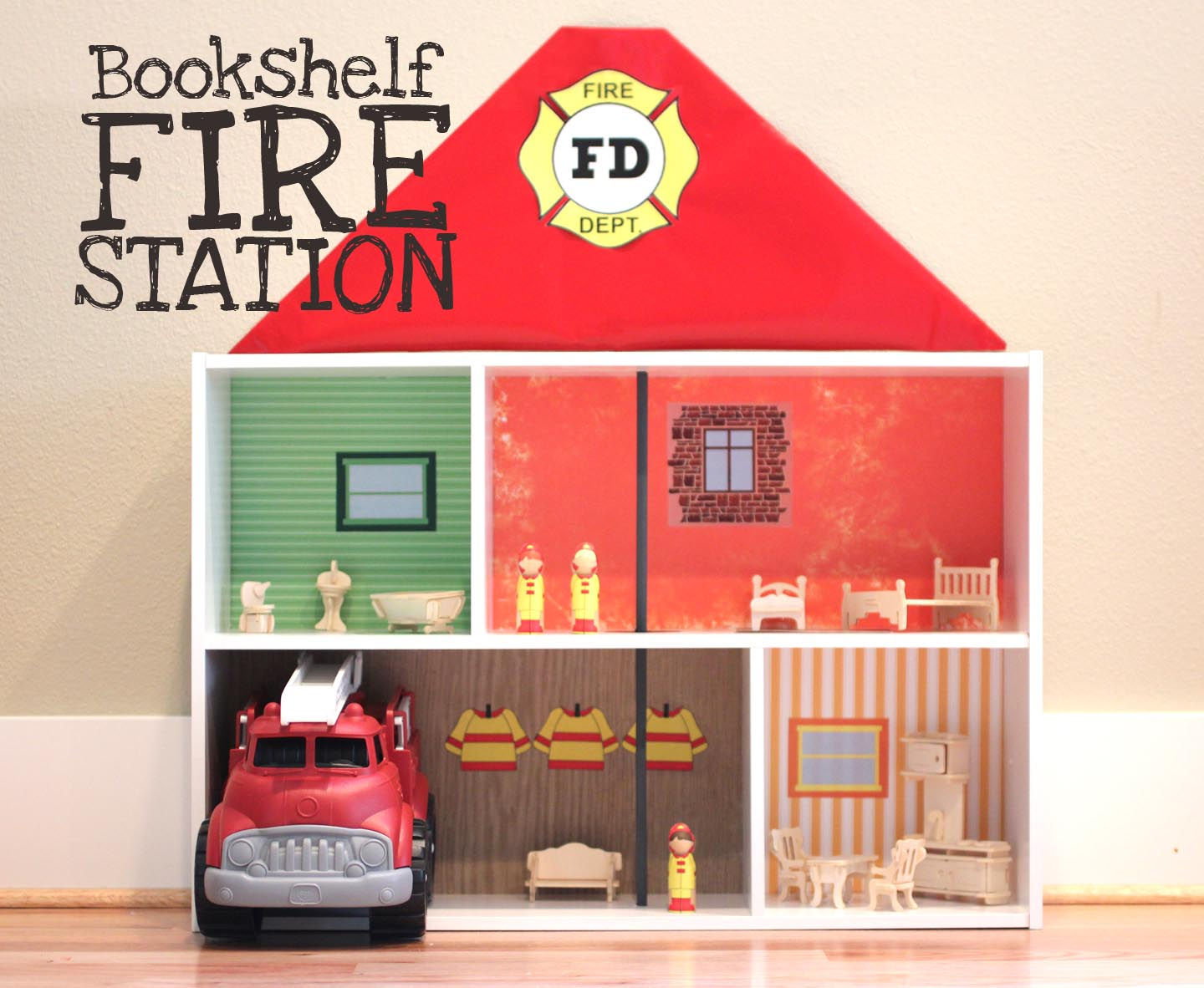Boys Fire Station Toy House 1440 x 1182