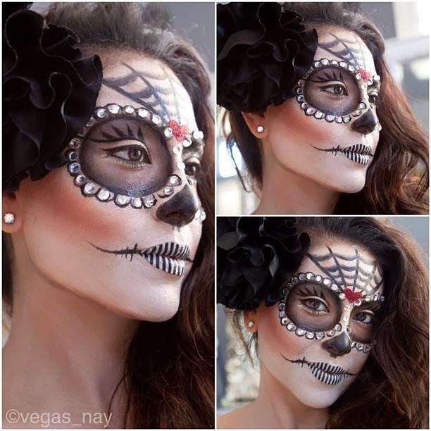 Special halloween beauty dezazu - Maquillage halloween couple ...