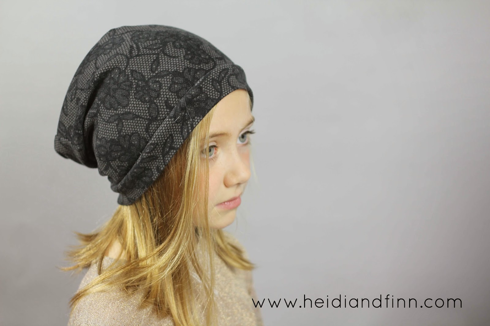 HeidiandFinn modern wears for kids: Slouchy Beanie hat - FREE ...
