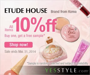 Etude House Is On Sale! 10% Off All Products