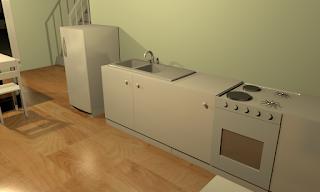 Sweet Home 3D Kitchen Render