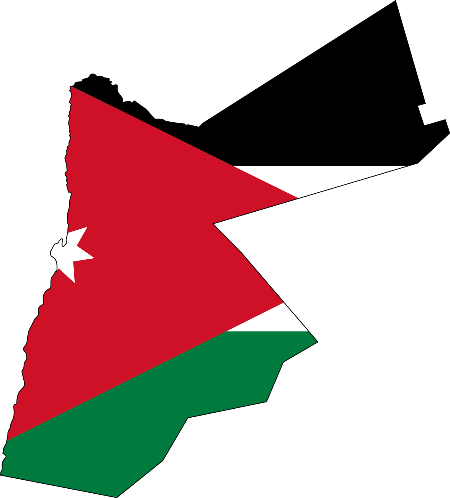 Country Flag Meaning Jordan Flag Pictures
