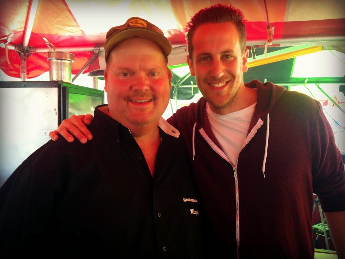 Wayne Schafer on Food Network Carnival Eats