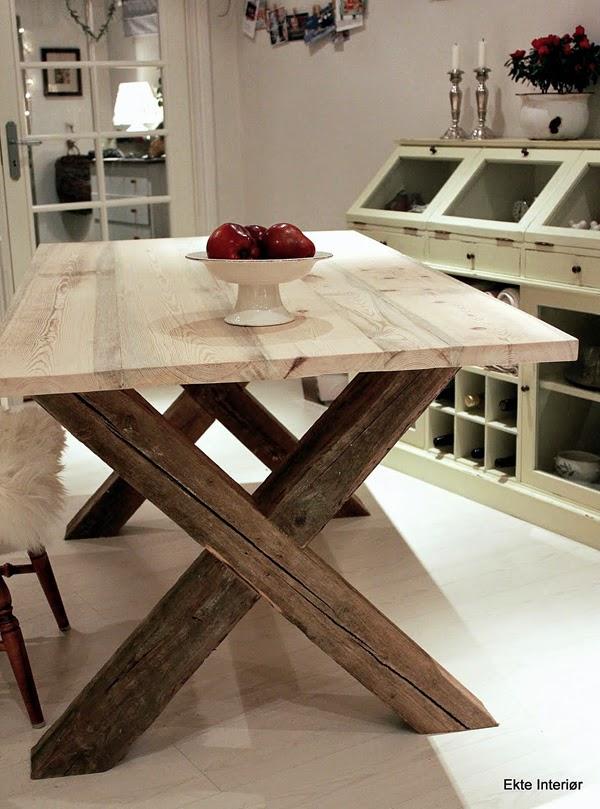 Bordet er bare halvveis ferdig som du ser.