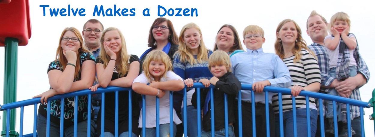 Twelve Makes a Dozen