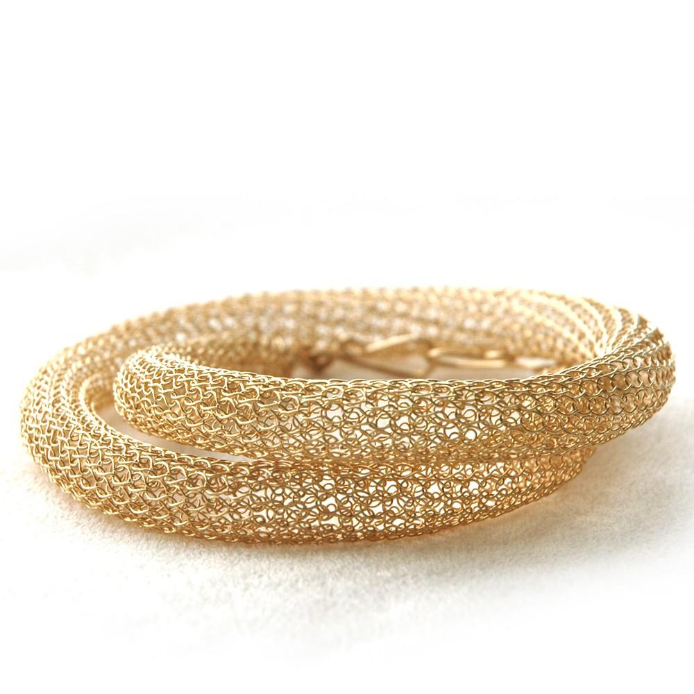 ... Handmade Jewelry: YooLaTube Necklace, Crocheted Wire Jewelry Tutorial