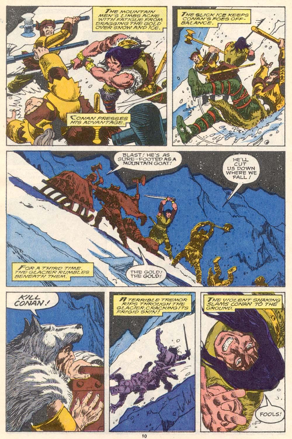 Conan the Barbarian (1970) Issue #220 #232 - English 10