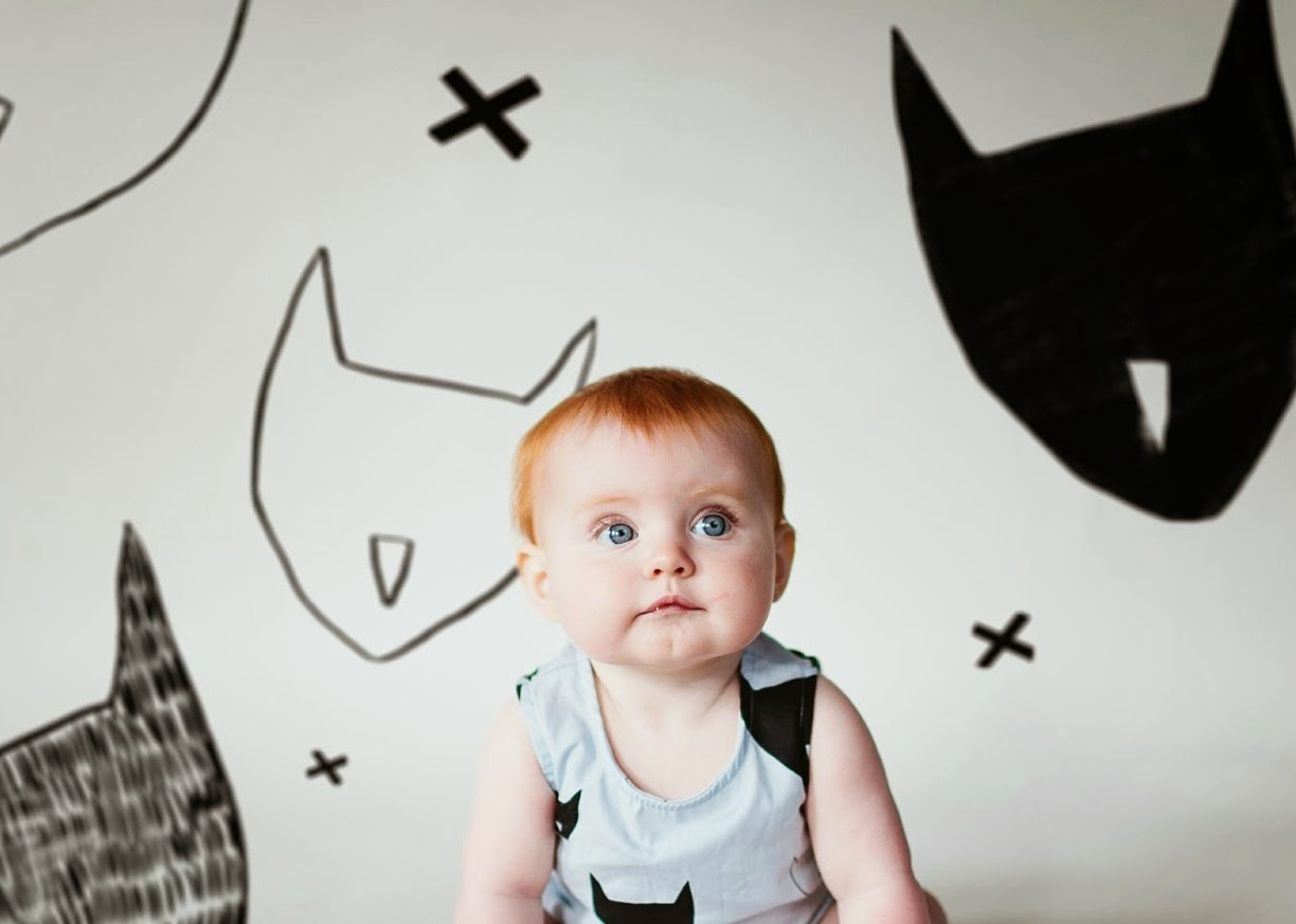 Beau Loves Kids and babies fashion photography by Flannery O'Kafka for spring 2014