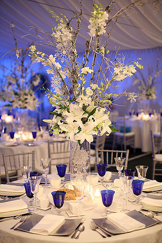 Ideas White Wedding Flower Centerpieces The Fashion Styles