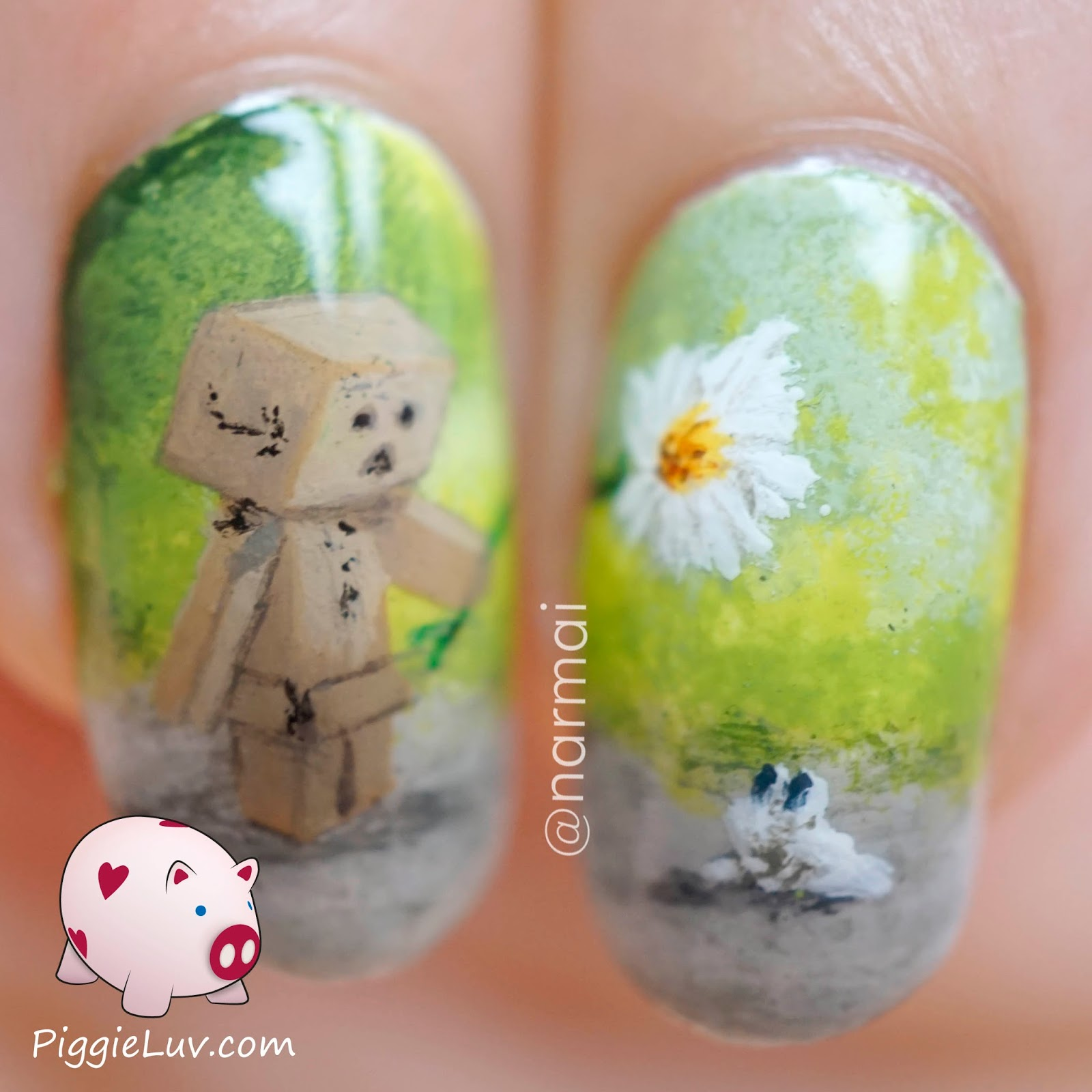 cute painted nail designs