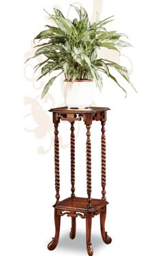 Kr c mo dar protagonismo a las plantas pedestales de madera - Pedestal para plantas ...