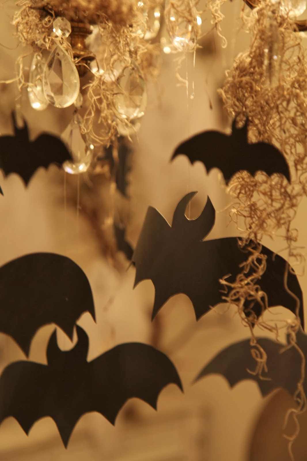 Flying Bats; Hauntify Your House for Halloween