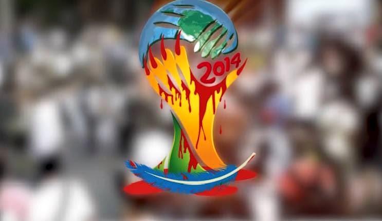 Boycott de la Coupe du monde du sang de la FIFA 2014