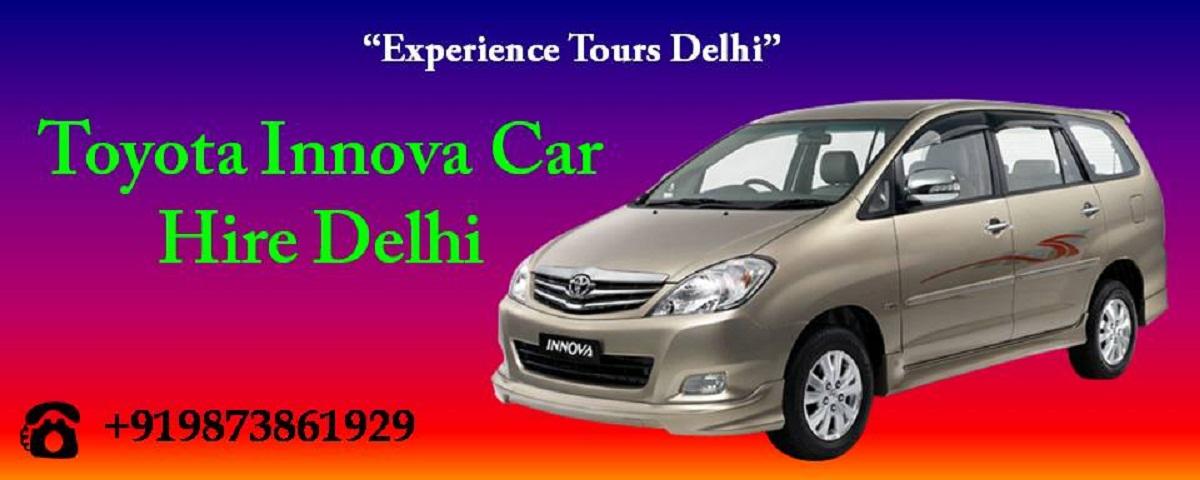 Toyota Innova Car Hire in New Delhi