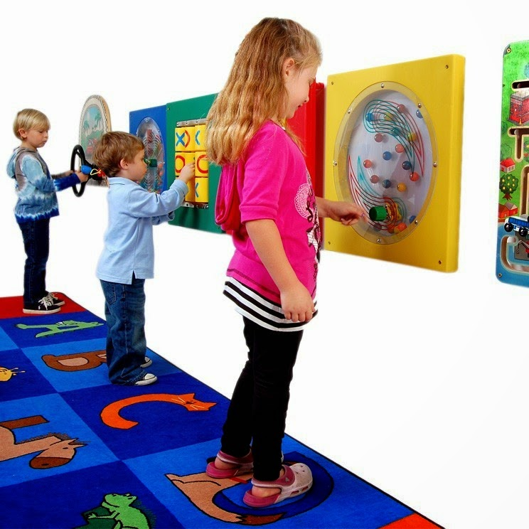 Anatex Wall Panel Toys